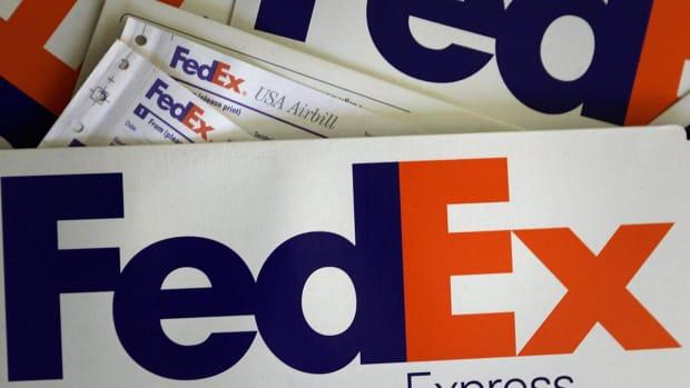FedEx Shares Rise