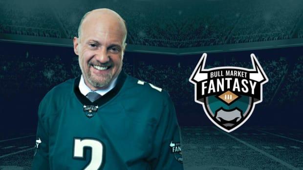 Cramer's Fantasy Football Draft Got a Little Crazy - Watch