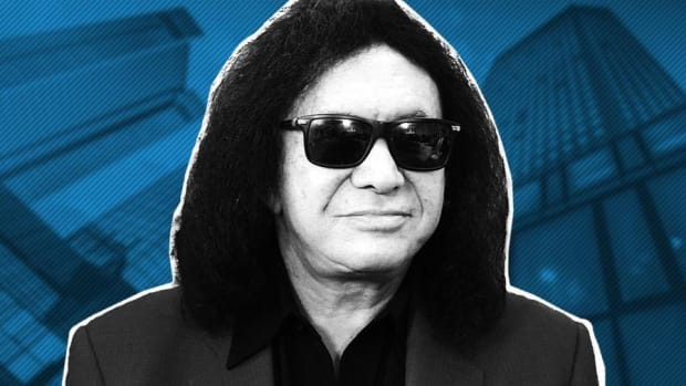 Dow Nearing a 1,200 Point Correction: Kiss Legend Gene Simmons
