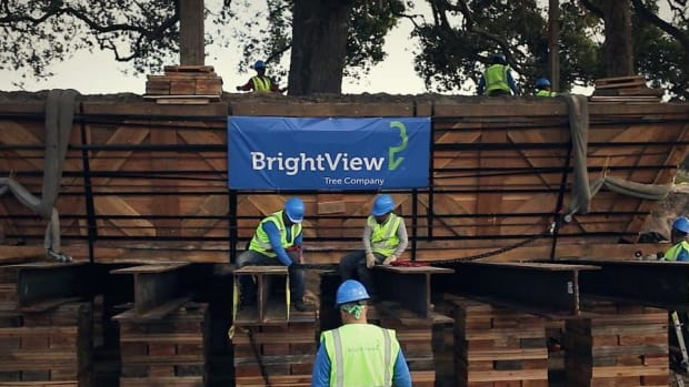 Video: Landscaping Company BrightView Shares Slip in IPO Debut