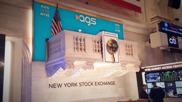 Video: PlayAGS Shares Gain Steam Following NYSE IPO