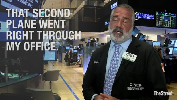 Remembering 9/11: One Trader Says 'It's by the Grace of God That I Am Here'