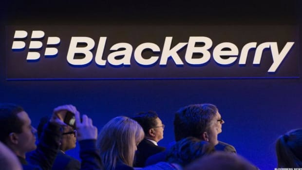 BlackBerry CEO Shares His Thoughts on the Tech Stock Rout
