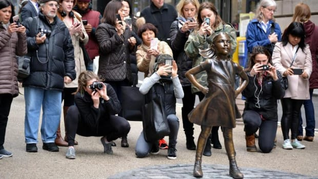 Thankfully Our Favorite #FearlessGirl is Not Going Anywhere