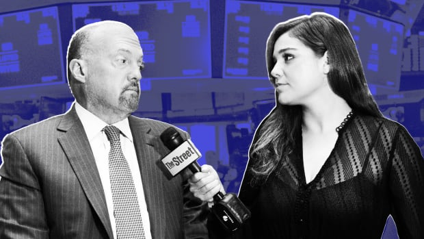 Happy Veterans Day: Jim Cramer on Caterpillar, Trade War and Apple