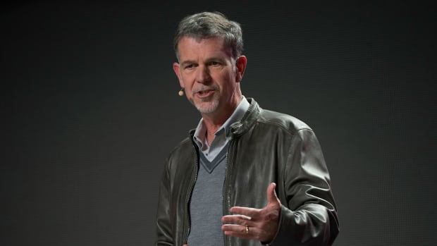 Netflix CEO Reed Hastings: Don't Look for Us to Reduce Spending on Content