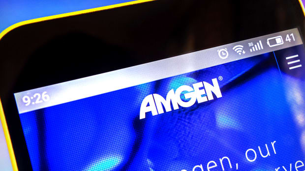 Amgen at 52-Week Highs Bumps Against Resistance, Remains a Long-Term Hold