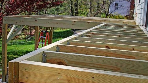 Fourth-Best Home Improvement: Wood Deck Addition, ROI: 75.6%