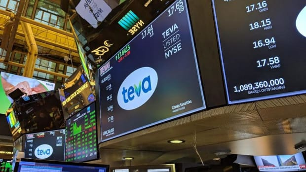 "Teva Pharmaceuticals CEO Talks ""Trough Year"", 2020 Turnaround"