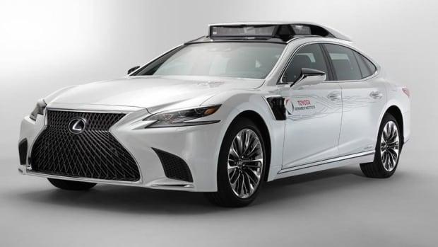 Toyota Unveils Autonomous Car Prototype