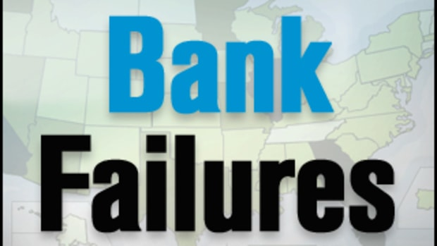 Kansas Bank Fails; 2011 Tally at 64