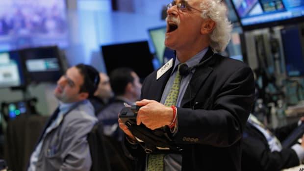 Stocks Flip Monday's Rout; J.C. Penney Plummets