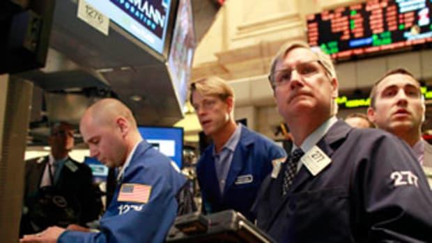 Stocks Socked Despite Upbeat China Numbers; Apple Falls