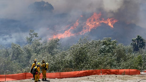 What It's Like to Live Through the San Diego Wildfires