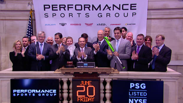 Performance Sports Group CEO Hits a Home Run at the NYSE
