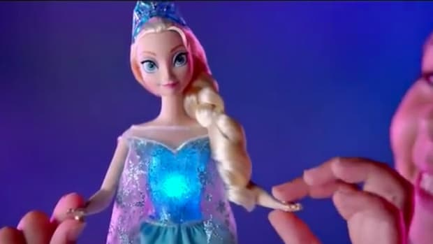 Frozen Dolls Take Holiday Top Spot, Barbie's Popularity Cools