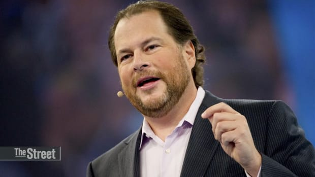 Salesforce.com's Marc Benioff Is One of Jim Cramer's 'Bankable CEOs'