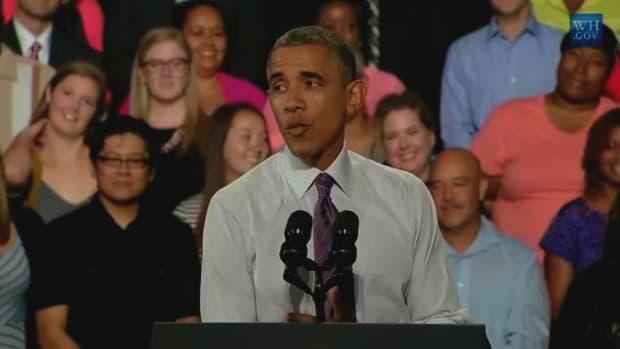 Obama Talks Economy, Minimum Wage, Student Debt