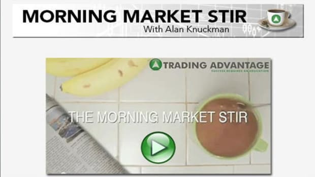 Morning Market Stir: Week of Selling Ends with a Bounce on Friday