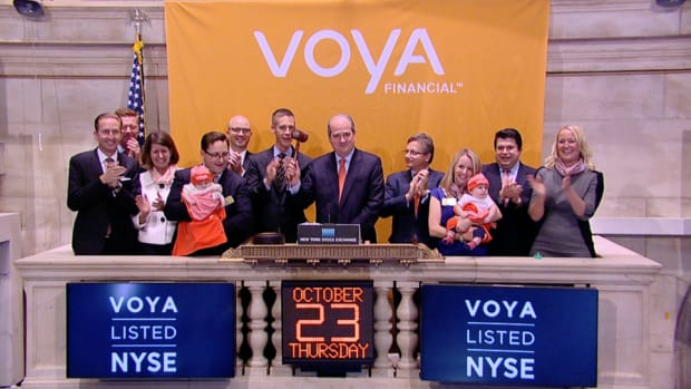 Markets Rally to end Higher Thursday, Voya CEO Talks Babies and Cash