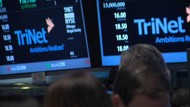 TriNet HR Company IPO Jumps on First Day of Trading