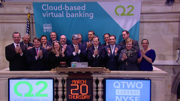 Q2 Holdings Jumps on IPO, Investors Can't Get Enough Cloud Stocks