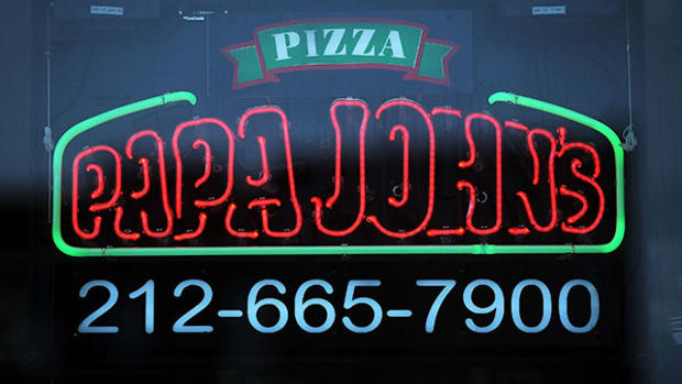 Papa John's (PZZA) Stock Is the 'Chart of the Day'