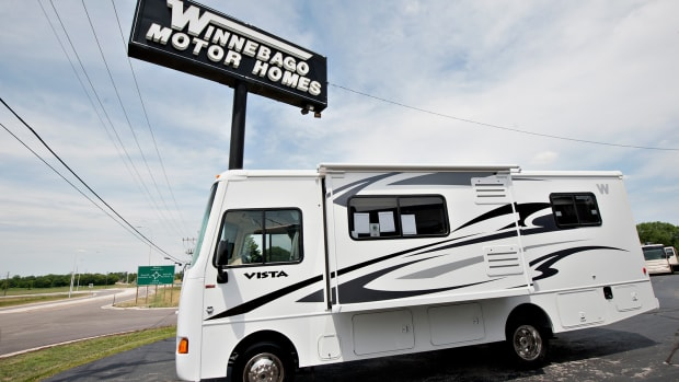 Winnebago's Shares Driving in the Wrong Direction Before Earnings