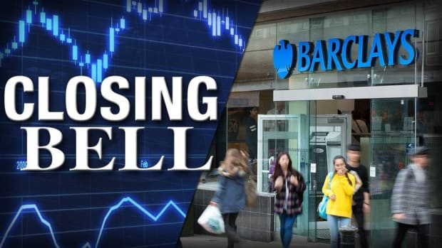 Closing Bell: Barclays Settles Mortgage Suits; Energy Slides
