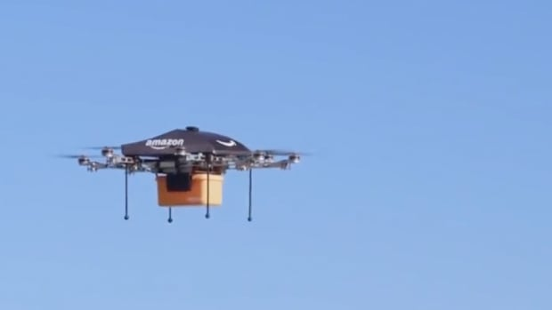 FAA Approves Wrong Amazon Drone; Dow Drops 100 Points on Strong Data