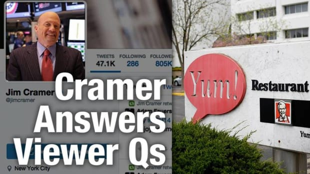 Jim Cramer Hungry for Shares in Yum Brands, McDonald's in 2016