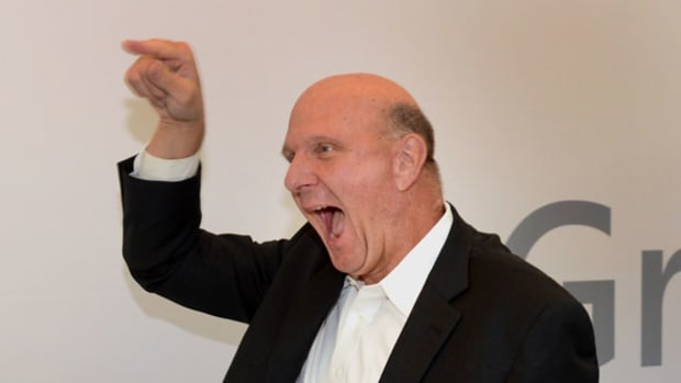 Steve Ballmer Says He Wants to See More Profit Growth from Microsoft