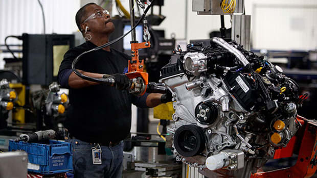 Newcomers Auto Production to Outpace Detroit's Big Three for the First Time