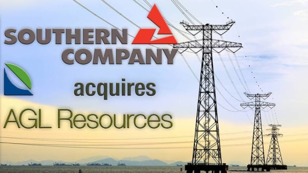 Southern Co. Acquires AGL Resources in $12B Deal With an Equity Value of $8B