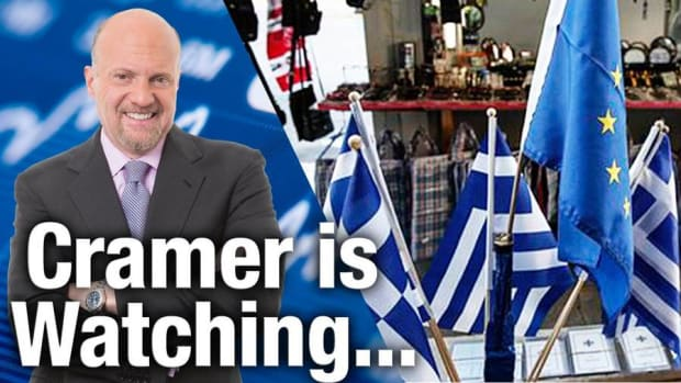 Jim Cramer Is Keeping a Close Eye on Greece and China
