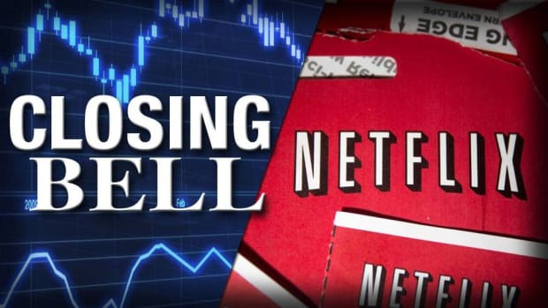 Netflix Breaks Record; Stocks End at Session Highs on Greece