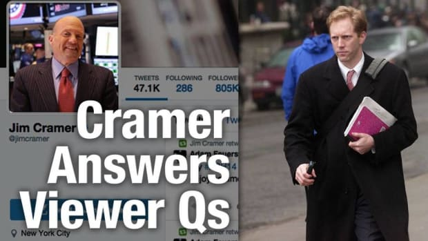 Jim Cramer Fields Questions From Viewers Including Henry Blodget