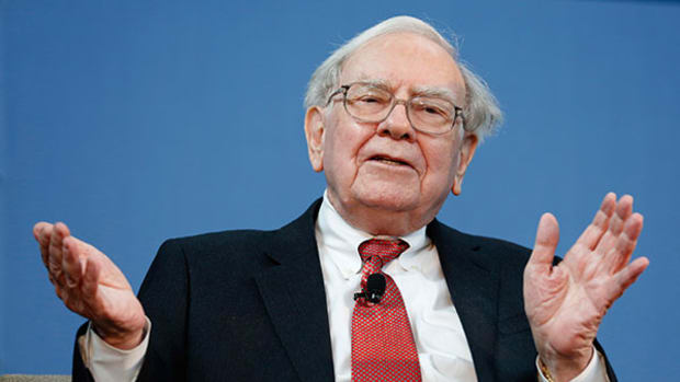 Berkshire Hathaway Shares Testing Major Top Support