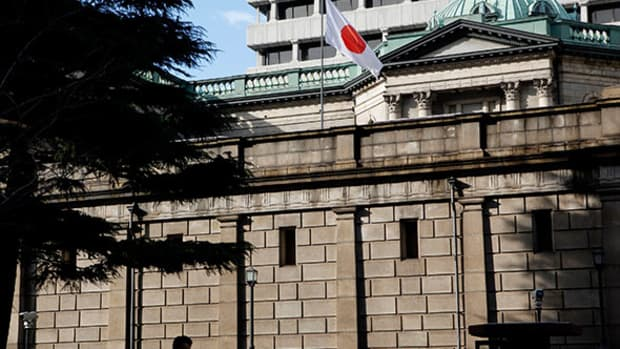 ECB's Draghi May Be Ready to Change Course, but the BOJ Is in It for the Long Haul: Market Recon