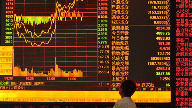 China's Shanghai Composite Index Slides 6% on Currency Worries