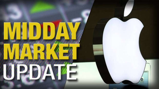 Midday Report: Apple Weighs on Dow; Negative End to 2015 Likely