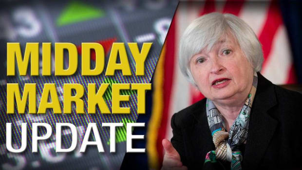 Stocks Edge Higher as Yellen Speaks; Guess? Jumps on CEO Exit