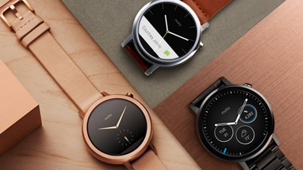 Moto 360 Smartwatch -- Classy and Refined