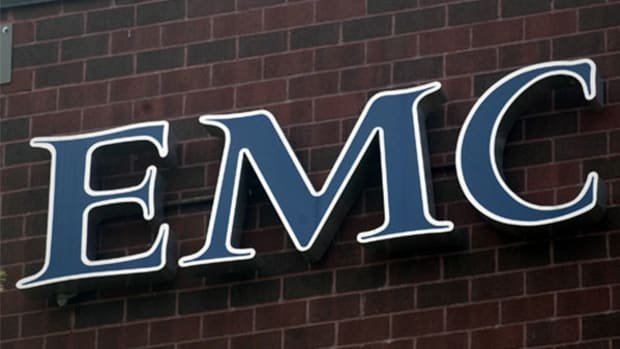One Reason Why EMC Stock is Advancing Today