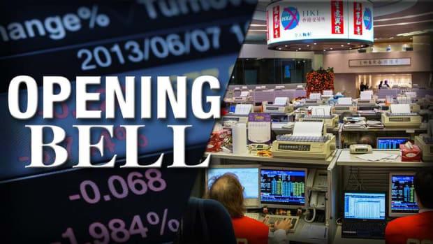 U.S. Stocks Open Lower as Stocks Nosedive in Asian Markets