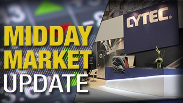 Cytec Industries Rockets Higher on Deal; Stocks Gain Ahead of Fed