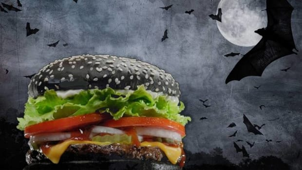 The Burger of Darkness Arrives at Burger King for Halloween