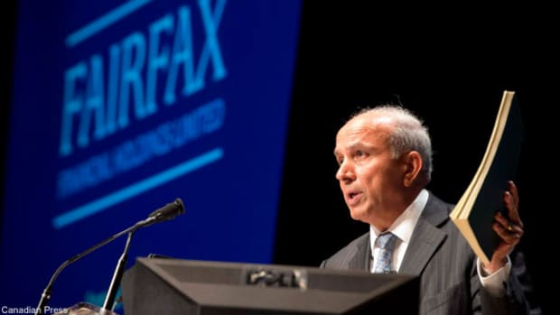 Apollo Global Management, CVC Capital Sell Brit to Fairfax Financial