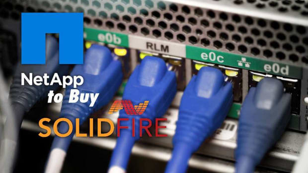 Struggling NetApp's Stock Is Down on News It Is Buying SolidFire