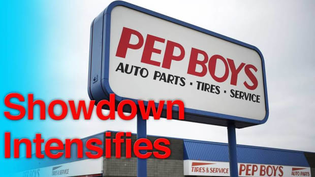 Icahn Continues Pep Boys Pursuit With Sweetened Bid